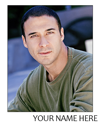 Theatrical Legit Headshot Male Actor How To Get Great Headshots Sample