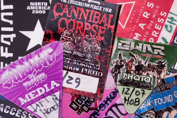 Live Concert Photo Pass Press Credentials