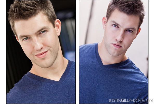commercial vs theatrical headshot for actors