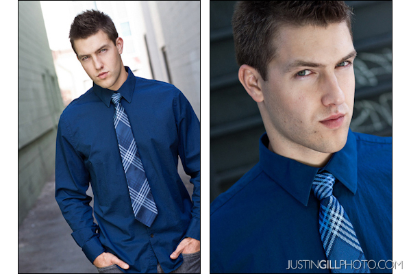 Commercial vs Theatrical Actor Headshot