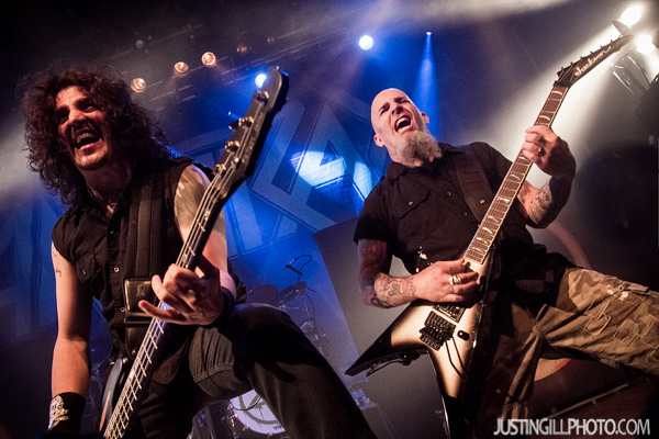Anthrax Scott Ian live concert photo House Of Blues Los Angeles