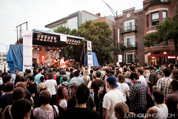 Do Division Festival Wicker Park Chicago Live Concert Photo